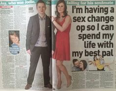 sex change newspaper - Google'da Ara
