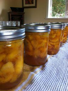 Kentucky Bourbon Vanilla Peaches