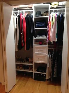 Closet Maid Design Idea 4 girls closet | Home remodel | Pinterest ...