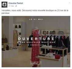 Claudie Pierlot ouverture