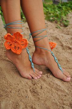 Sidney Artesanato: Enfeitando os pés