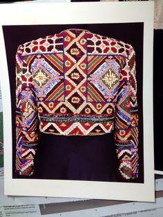 Handwoven Sulu Piz a bit Mindanao jacket Filipino Art, Filipino Tribal, Tribal Patterns, Textile Patterns, Textiles, Ethnic Chic, Ethnic Fashion, Kurti With Jacket