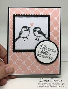 DOstamper STARS Thursday Challenge featuring Petal Passion Memories & More Card Pack. For details click through to my blog #crackedpotstamper #stampinup