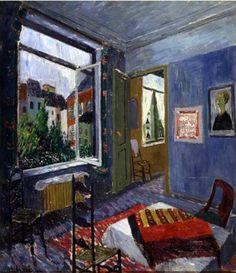 Louis Van Lint (Belgium, 1909-1986) - Interior