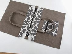 Step by steps for my zippered tote bag - Debbie Shore
