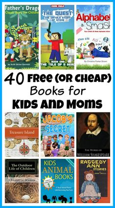 40 free or cheap books for kids and moms - Free Kid Books