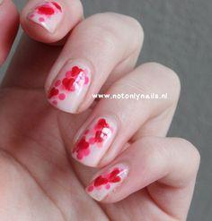 Happy Valentine's day nails