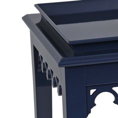 """Newport detail from oomph shown in """"Cub Navy"""" - our favorite Navy Blue."""