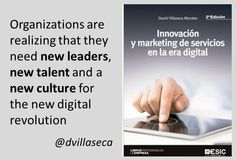 New leadership and talent for the transformation? Digital Revolution, Leadership, Organization, Marketing, Health, Getting Organized, Organisation, Health Care, Tejidos