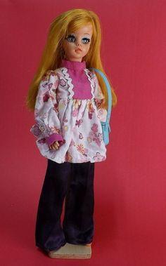 Boneca Antiga Susi Estrela Susi Faz Pose 70s