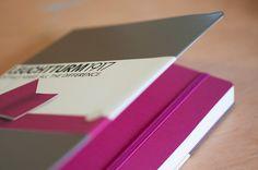 Leuchtturm medium Duocolor plain notebook (A5) from Bureau Direct
