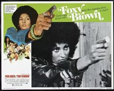 Pam Grier, Foxy Brown, April 25, Bombshells, Pin Up, Hollywood, Celebrities, Movie Posters, Celebs