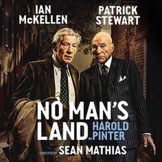 Masters Of British Theatre, Ian McKellen And Patrick Stewart Star In No Man's Land BOOK NOW!