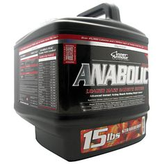 Inner Armour Anabolic-Peak Gainer Strawberry - 15 lbs. (6.8 kg) #fitness #healthy #health #sports #fitnessmodel #gym