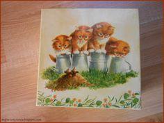 Mój świat kolorów...: Herbaciarki z kotami...