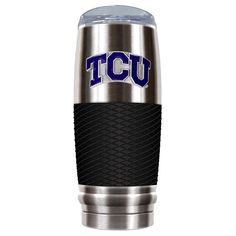 TCU Horned Frogs 30-Ounce Reserve Stainless Steel Tumbler, Multicolor
