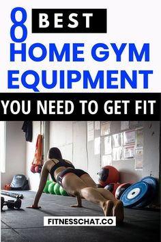 If you need to buy the best home gym equipment you to get fit at home without spending too much money then this guide is your home gym essentials checklist for the best home gym equipment Upper Body Workout For Women, Gym Workout Plan For Women, Best Workout Plan, Best At Home Workout, At Home Workout Plan, At Home Workouts, Cardio Workouts, Hiit, Free Workout Plans