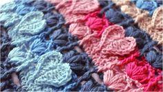 Crochet Textured Heart Stitch [FREE Crochet Pattern]