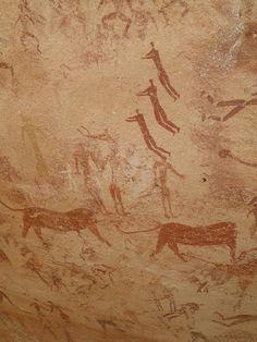 Cave of the Beasts, Gilf El Kebir, Egypt