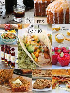 Liv Life ~ Top 10 Recipes of 2013