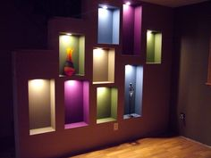 wall niche ideas | ... niches are built-in to the wall, helping ...