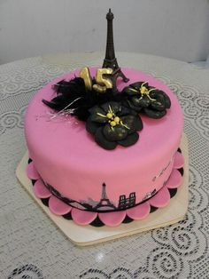 Terminada torta parís