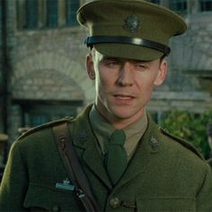Tom Hiddleston as Captain Nicholls in War Horse