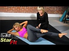 Pilates Workout with Mari Winsor from Star Fit is an exclusive, behind-the-scenes look at 3 key, total body-toning Pilates exercises that are designed to burn fat, build core strength, and elongate the body, and are ideal for anyone that wants a great workout, but is short on time.