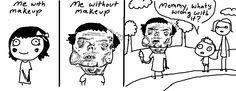 Doodle Time: no makeup
