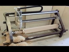 Routeur Cnc, Arduino Cnc, Diy Cnc Router, Cnc Woodworking, Woodworking Workshop, Cnc Maschine, Cnc Table, Cnc Plans, Wood Turning Lathe