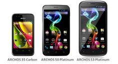 Archos rolls out a trio of affordable Android smartphones