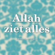 Allah ziet alles - www.islam-blog.nl