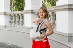 ISARA Wrap Conversion Beauty of the North ergonomic adjustable carrier Beauty, Beauty Illustration