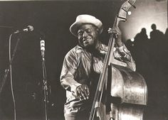 Willie Dixon (1915-1992) - author of so many blues standards, SO MANY - Spoonful, Little Red Rooster, Ain't Superstitious, Back Door Man and many, many more.