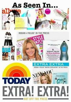 Rodan and fields is everywhere! Skincare for all types of skin! Check this out