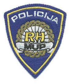 CROATIA POLICE MINISTRY OF INTERNAL AFFAIRS - MUP RH type 2 sleeve patch  http://cgi.ebay.com/ws/eBayISAPI.dll?ViewItem&item=161203010870