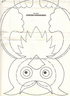 Crochet Applique Patterns Free, Applique Quilts, Applique Designs, Owl Patterns, Sewing Patterns, Fall Coloring Pages, Bazaar Ideas, Owl Crafts, Fabric Toys