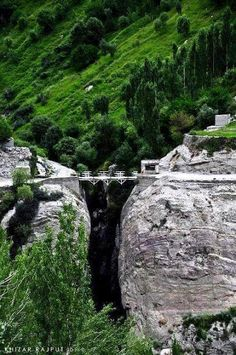 Connecting Baltit and Altit village - Hunza valley