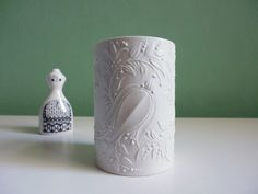 ♥ zauberhafte BJØRN WIINBLAD Porzellan Vase ♥ von ILoveSparrows auf DaWanda.com
