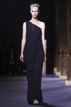 With the majority of Vionnet's Spring/Summer 2016 lineup composed of long, liquid gowns that relied on pleating for their slinky movement, it wasn't immediately clear if this was a catch-up...