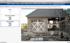 Cool website that allows you to upload a picture of your garage and try out different garage door styles on your home!