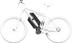 "The Sunstar Virtus ""quick release"" mid drive electric bike kit."