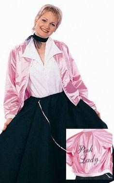 Adult Grease Pink Ladies Jacket | Grease pink ladies jacket, Pink ...