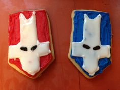 Castle crashers sugar cookies