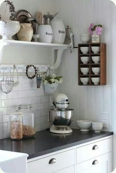 Cute cubby shelf