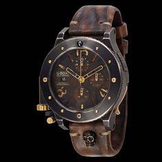 U-Boat Unicum Chrono 47 Gold Watch - DaVinci Emporium