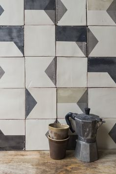 Tiles: made in Portugal, each tile made individually so no two are the same | Smink Things: Wallpaper and Tiles - Mad About The House