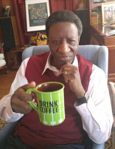 hotTEAs of Children's Literature: Wade Hudson Morning Papers, Children's Literature, My Dad, Louisiana, Little Boys, Growing Up, Coffee Cups, Author, Reading
