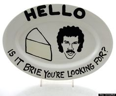 Lionel Richie Tea Pot And Cheese Plate Have Won Our Hearts (PHOTOS)