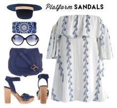 """Platform Sandals"" by misshonee ❤ liked on Polyvore"